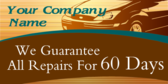 We Guarantee All Repairs
