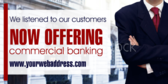 Now Offering Commercial Banking