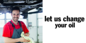 Let Us Change Your Oil