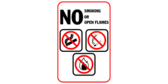 No Smoking Or Open Flames Images