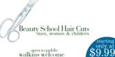Beauty School Hair Cuts