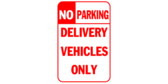 Delivery Vehicles Parking Only
