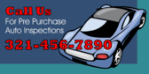Pre Purchase Auto Inspections