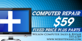 Computer Repair Plus Fixed Price