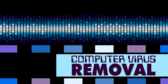 Computer Virus Removal Banner
