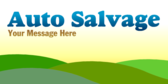 Auto Salvage Message