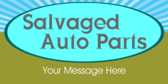 Salvaged Auto Parts