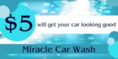$5 Car Wash