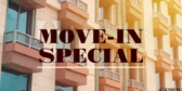 Move-In Special Orange Brown
