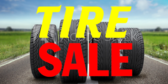 Tire Sale Black Green