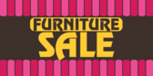 Furniture Sale Pink Tent Background