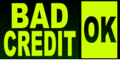Bad Credit Ok Green Black