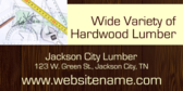 Wide Variety Of Lumber