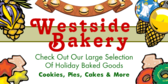 Holiday Baked Goods-Cookies, Pies, Cakes