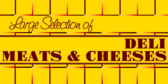 Large Selection of Meat and Cheese