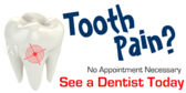 Tooth Pain? See A Dentist Today