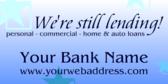 We're Lending