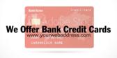 We Offer Bank Credit Cards