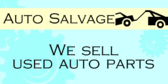Salvage Used Auto Parts
