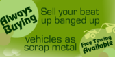Sell Your Banged up Car