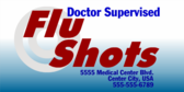 Flu Shot Doctor Supervised
