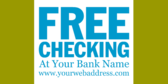 Free Checking Bank Name