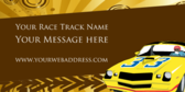Race Track Message