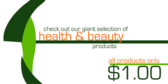 Health and Beauty Products for