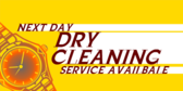 Next Day Dry Cleaning Available