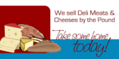 Deli Meat & Cheese by Pound