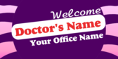 Generic Welcome Doctor Message
