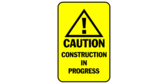 Caution Construction In Progress