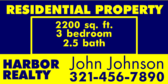 Residential Property Real Eatate