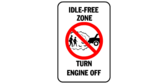 Idle Free Zone, Turn Engine Off