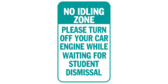No Idling Please Turn Off Your Car