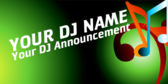 Generic DJ Announcement