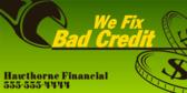 credit repair signs