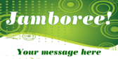 Jamboree! your message here