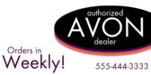 Authorized Avon Dealer