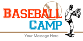 Baseball Camp Message