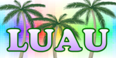 Digital Rainbow Luau