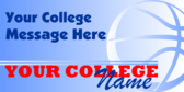 Generic College Sports Banner