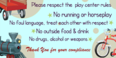 Childrens Play Center Rules
