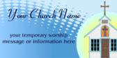 Temporary Worship Message