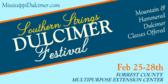 Southern Strings Dulcimer Festival