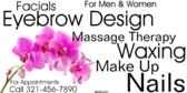 Facials Waxing Eybrow Design For Men And Women