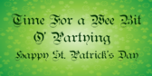Happy St. Patrick's Day Party