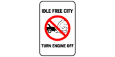Idle free city – turn engine off