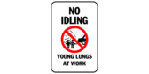 No Idling Young Lungs At Work
