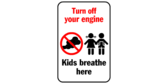 Turn your engine off – kids breathe here
